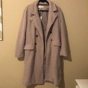 NWT VICI Sherpa Pocketed Trench Coat